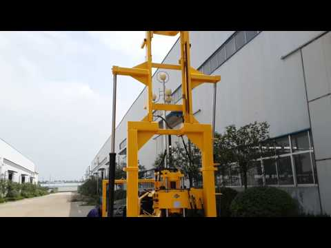 Tricycle rig Drilling tower view