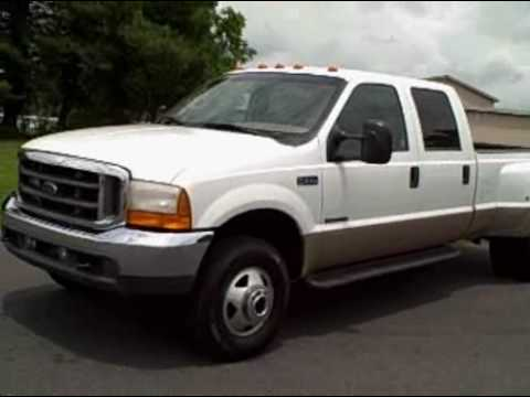 Ford Powerstroke For Sale >> 2001 Ford F350 Super Duty 4X4 Lariat - YouTube