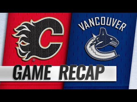 Pettersson, big 3rd lead Canucks to win in opener