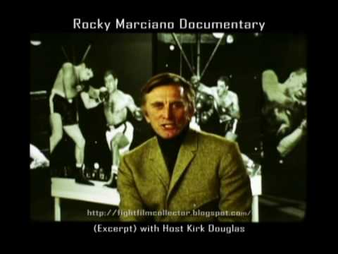 Lost Rocky Marciano 1970 TV Tribute with host Kirk Douglas (16mm film  transfer)