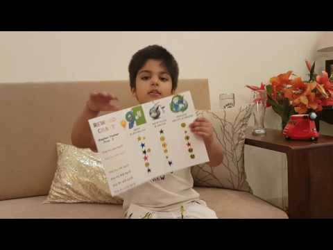 Save Earth Activity | Reward Chart | Michael Jackson | Earth Song | kindergarten | Raghav Mathur