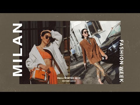Milan Fashion Week BTS F/W 2019 VLOG // Brittany Xavier
