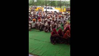 Ramlal Jat- MLA - addressing people of LESVA- 1
