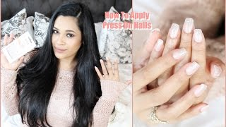 How To Apply Press On Nails That Won