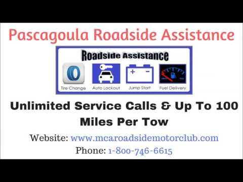 Pascagoula, MS Mississippi Roadside Assistance