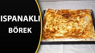 Hazır yufkadan fırında ıspanaklı börek tarifi - Ispanaklı yufka böreği