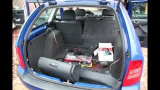 Octavia I - Dodělání zadních reproduktorů včetně kabeláže