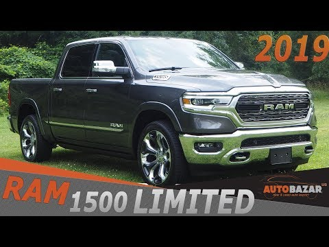 2019 Ram 1500 Limited Redesign видео. Тест Драйв Рам 1500 2019 фейслифт на русском.