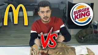 BIG MAC VS WHOPPER   Food Tasting
