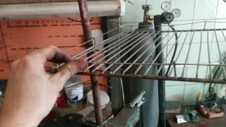Переносная, компактная Барбекю решетка своими руками часть 1