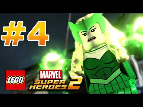 LEGO Marvel Super Heroes 2 - Walkthrough - Level 4: Castle Hassle thumbnail