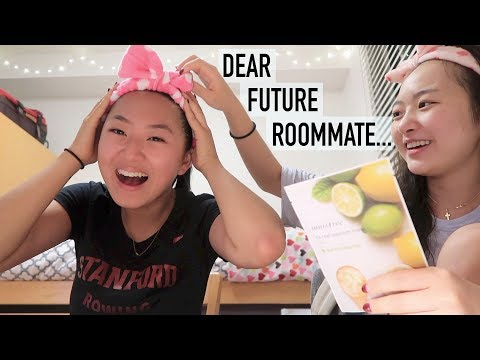 "My ""Dear Future Roommate"" Stanford Essay"