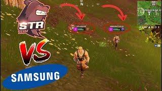STR vs SAMSUNG su FORTNITE? Snipes STR Undreds e Samsung Dercyz