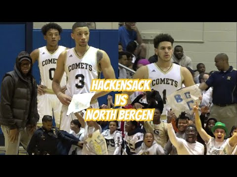 MOVIE! Hackesack Vs. North Bergen - Atiba Taylor & BJ Salima, Abdallah Saleh! N1G4 Sectional Final