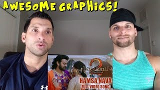 Hamsa Naava Full Video Song - Baahubali 2 [REACTION]