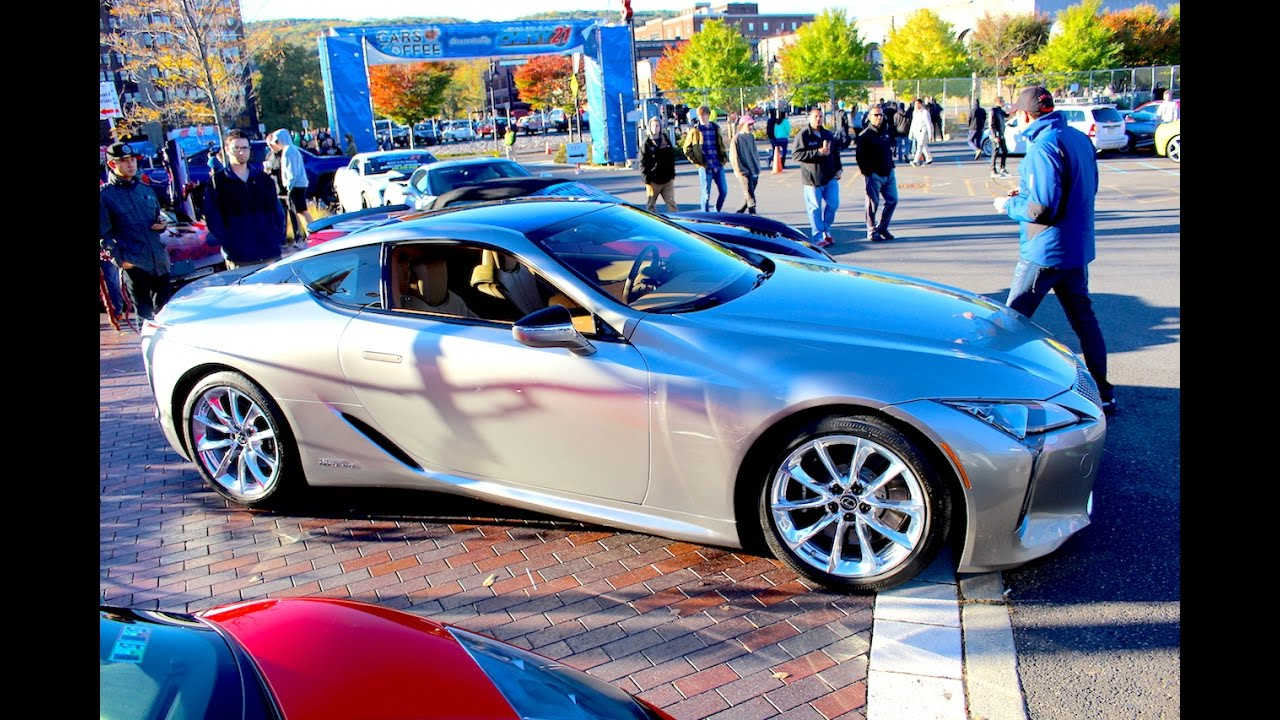 THE NEW LEXUS LC500 AT CARS AND COFFEE LEHIGH VALLEY
