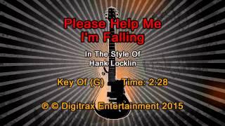 Hank Locklin - Please Help Me, I