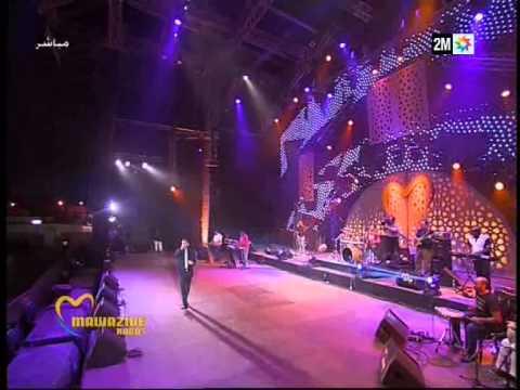 Tamer Houssni -  laou kounti nsit - Live music - Festival mawazine 2013 Rabat