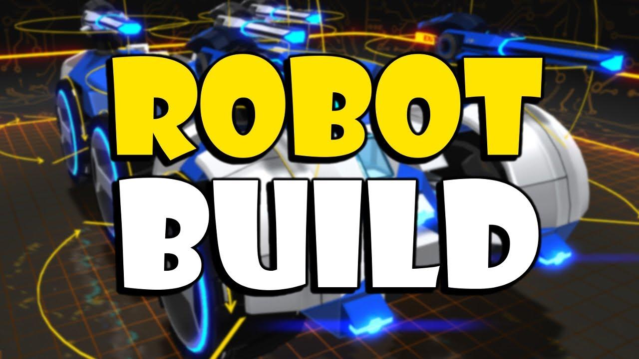 Robocraft Robot Build - CarCar - YouTube