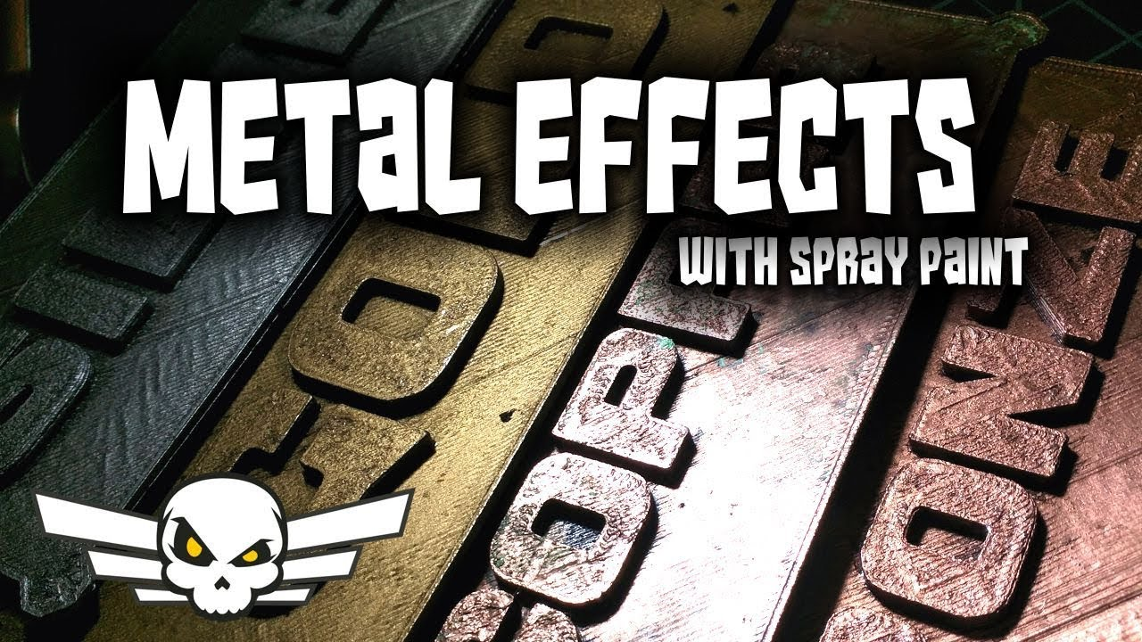 Top 5 Spraypaint Metal Effects - Metallic Spray Paint