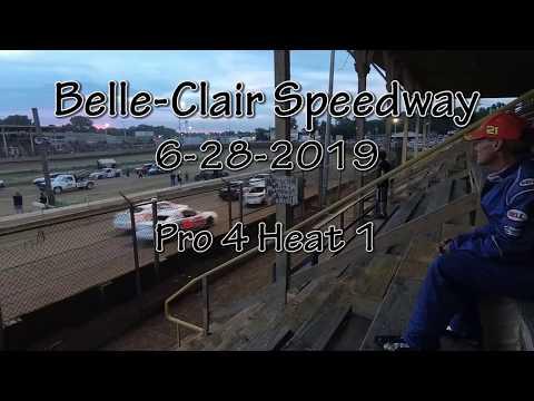 Belle Clair Speedway  Pro 4 Heat 1