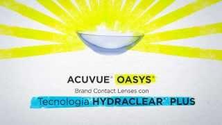 Lentes de contacto Acuvue Oasys(Multiópticas Pantano presenta las lentes de contacto Acuvue Oasys.Ojos hidratados y frescos. Lentes de contacto blandas y flexibles para una perfecta ..., 2014-03-26T08:30:10.000Z)