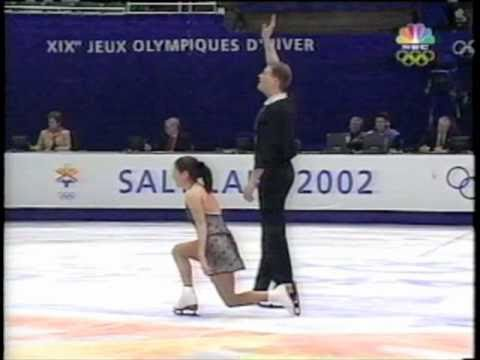 Sale and Pelletier: 2002 Olympics Short Program (w/ kiss and cry)