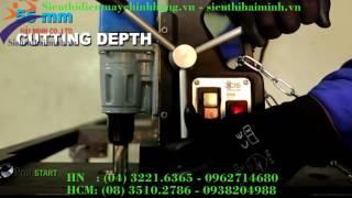 Giới thiệu Máy khoan từ điện BDS MAB 100