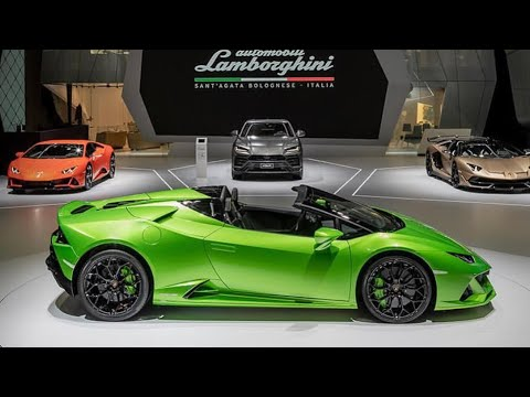 This Is The New Lamborghini Huracan Evo Spyder First Look Youtube