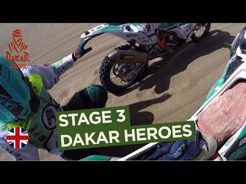 Dakar Heroes - Stage 3 (San Juan de Marcona / Arequipa) - Dakar 2019