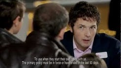 Brothers - Direct Line car insurance ad - Chris Addison and Alexander Armstrong