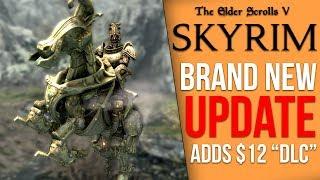 "Skyrim's Latest Update Adds a $12 ""DLC"" (Creation Club)"