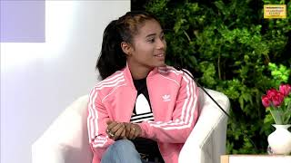 I want to improve my timing but not for medals: Hima Das at HTLS 2018