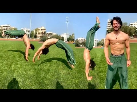 Download Tiger Shroff AMAZING Non Stop Flying Stunt Video