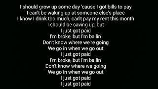 Just Got Paid - Sigala,Ella Eyre,Meghan Trainor ft French Montana (lyrics) Video