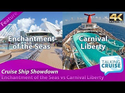 Enchantment Of The Seas Vs Carnival Liberty - Cruise Ship Showdown (2019)