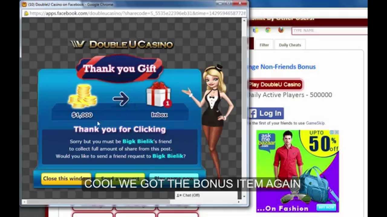 Bonus collector doubleu casino