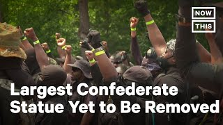 Protesters Demand Removal of Confederate Monument | NowThis