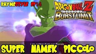 dragon ball z burst limit piccolo the super namek piccolo vs cell