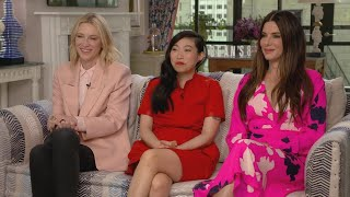 'Ocean's 8': Sandra Bullock, Cate Blanchett and Awkwafina (Full Interview)