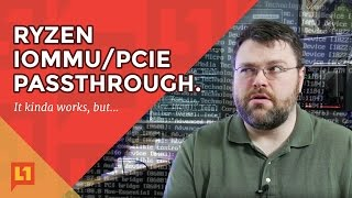 Ryzen: PCIe Passthrough Working, But...*