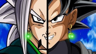 Fusionando a Goku Black con Zaiko | Dibujando fusiones