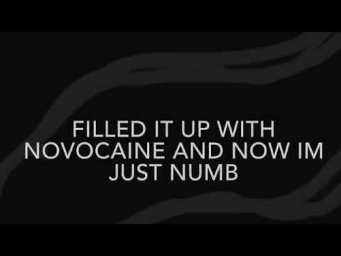 Novocaine- Fall Out Boy (LYRICS.)