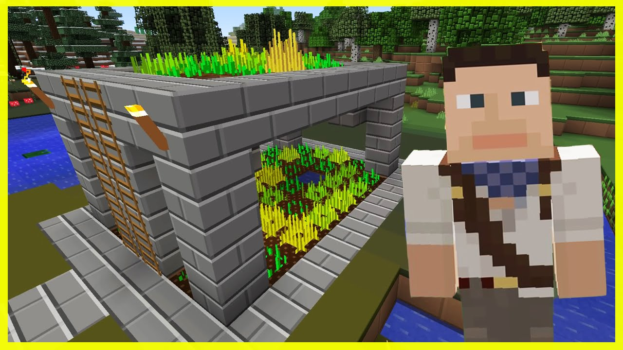 minecraft ps4 the farm tower survival 64 youtube