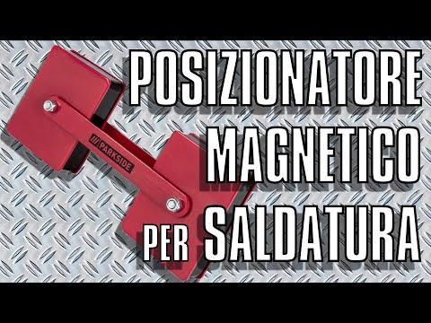 Supporto Magnetico per Saldatura, Posizionatore Doppio con Snodo