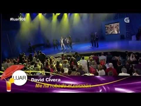 David Civera - Me ha robado el corazón - Luar (TVG) 21.06.2013