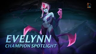 Evelynn Champion Spotlight | Gameplay - League of Legends