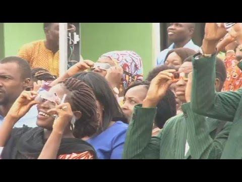 Nigeria : l'éclipse annulaire a attiré des centaines de personnes au centre spatial Obasanjo