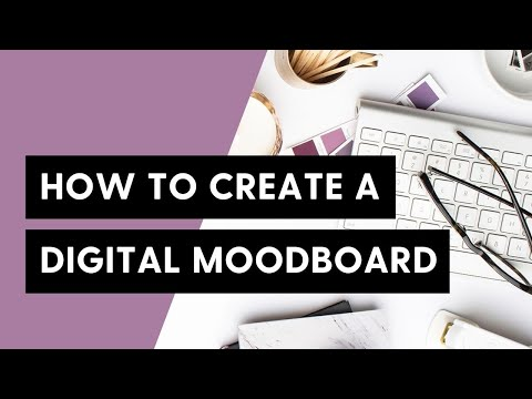 Marvelous Create A Digital Mood Board In Photoshop | Viva La Violette   YouTube
