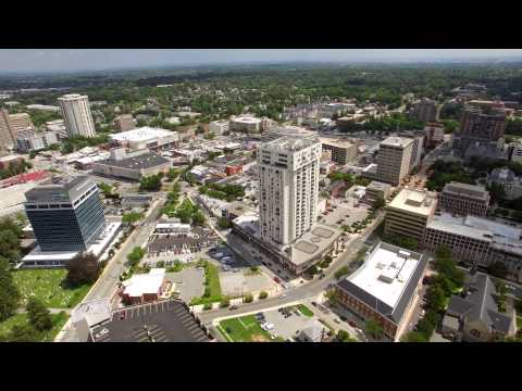dji phantom 3 pro fly above towson MD in true ultra HD 4K